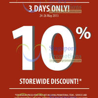 Read more about Home Fix 10% Off Holiday Weekend Sale 24 - 26 May 2013