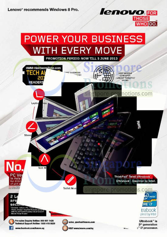Lenovo Business Notebooks Promotion