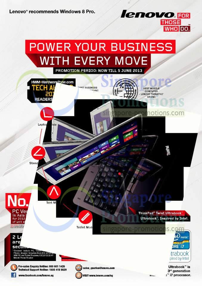 Lenovo Business Notebooks Promotion