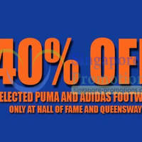Read more about Limited Edt 40% Off Puma & Adidas Footwear Promo @ Selected Outlets 9 May 2013
