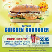 Read more about Long John Silver's NEW Chicken Cruncher Combo & Free Upsize Coupon 3 May 2013