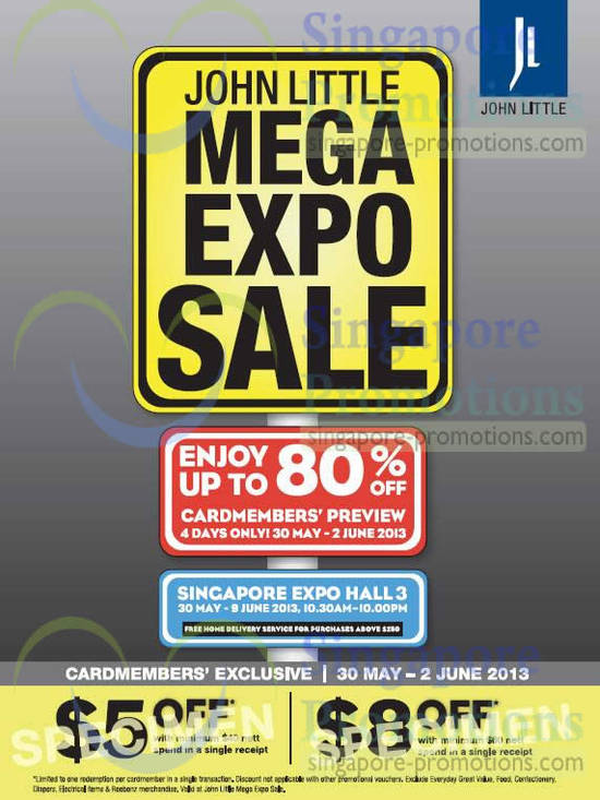 Mega Expo Sale Date, Time, Venue