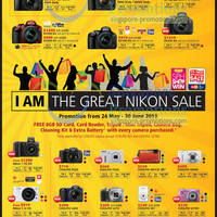 Read more about Nikon Digital Cameras Great Sale Offers 24 May - 30 Jun 2013