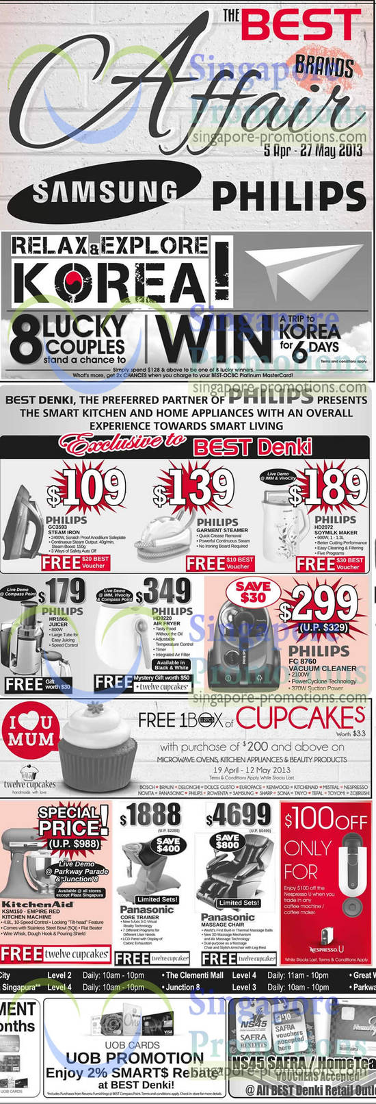 Philips Juicer, Air Fryer, Vaccum Cleaner, Steam Iron