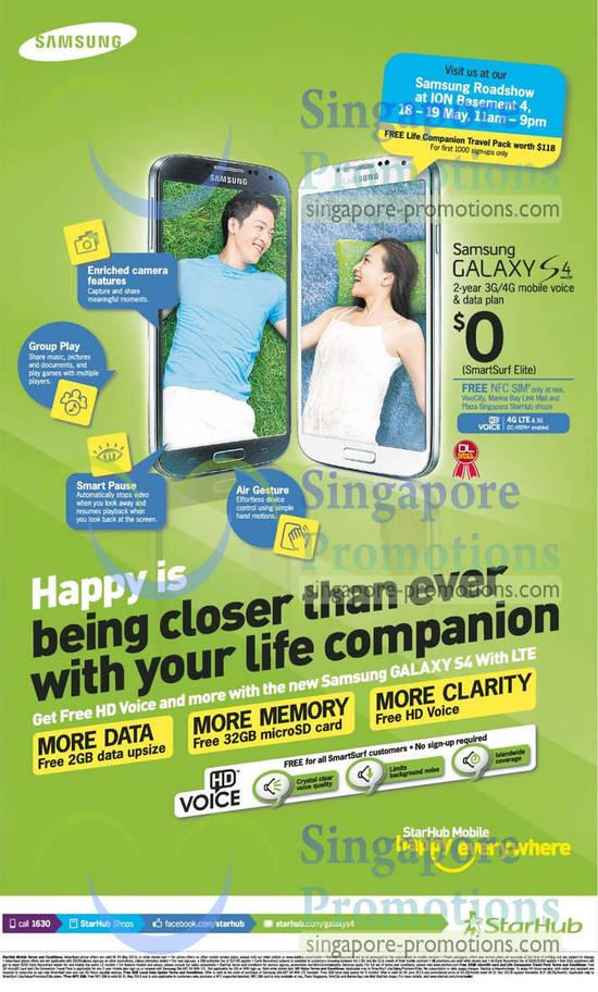 Samsung Galaxy S4, ION Orchard Roadshow