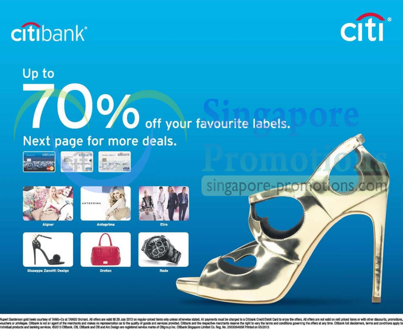 Up to 70 Percent Off on Favourite Labels