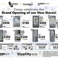 Read more about 3Mobile, Handphone Shop & GadgetWorld Smartphones No Contract Offers @ Jem & VivoCity 30 Jun 2013