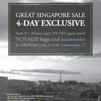 Read more about Agnes B 15% Off Voyage Bags & Accessories Promo 27 - 30 Jun 2013
