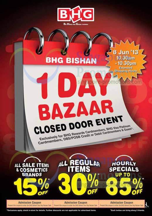 BHG Bishan 1 Day Bazaar