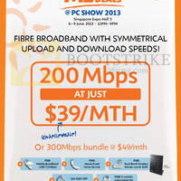 Read more about M1 PC SHOW 2013 Smartphones, Tablets & Home/Mobile Broadband Offers 6 - 9 Jun 2013
