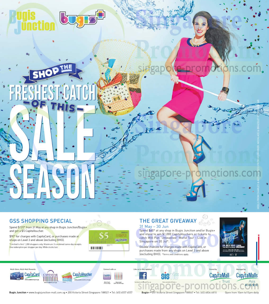 Bugis Junction GSS Shopping Special