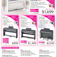 Read more about Casio Music Fiesta Digital Piano Offers 1 Jun - 31 Aug 2013