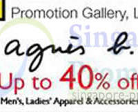 Read more about Isetan Agnes B Up To 40% Off Promo @ Isetan Scotts 14 - 20 Jun 2013