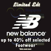 Read more about Limited Edt Up To 40% Off New Balance Footwear Promo 19 Jun 2013