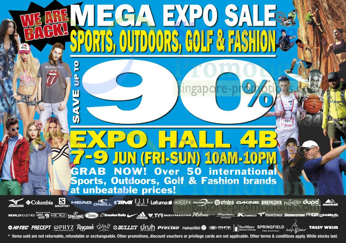 Mega Expo Sale 5 Jun 2013