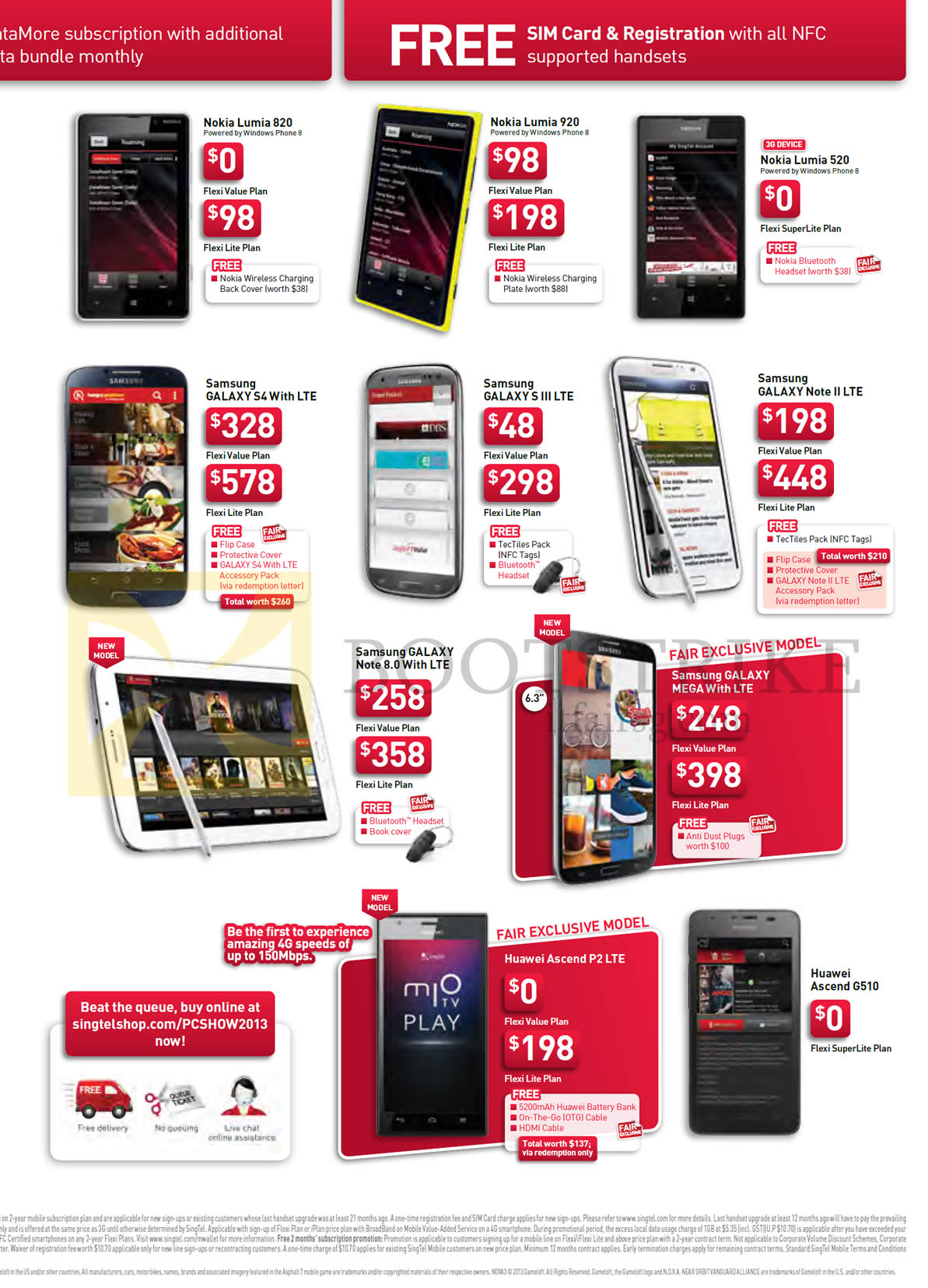 huawei phones price list. mobile nokia lumia 820, 920, 520, samsung galaxy s4, s iii lte, note ii 8.0, mega, huawei ascent p2 g510 phones price list i