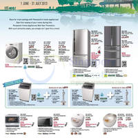 Read more about Panasonic Home Appliances Promotion Offers 1 Jun - 31 Jul 2013