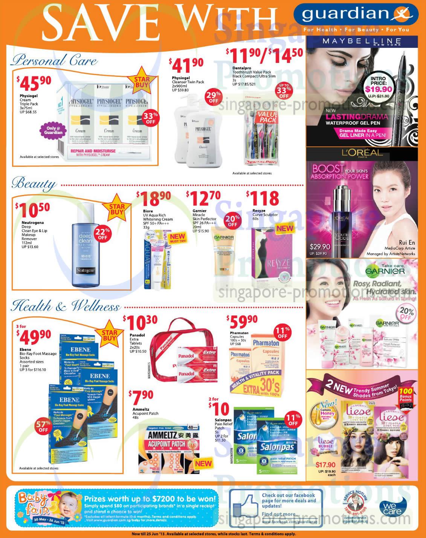 Personal Care, Beauty, Health n Wellness, Physiogel Cream, Cleanser, Resyze Curve Sculptor, Ebene Bio-Ray Foot Massage Socks, Pharmaton