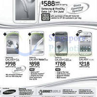 Read more about Samsung Tablets & Smartphone No Contract Price Offers 1 Jun 2013
