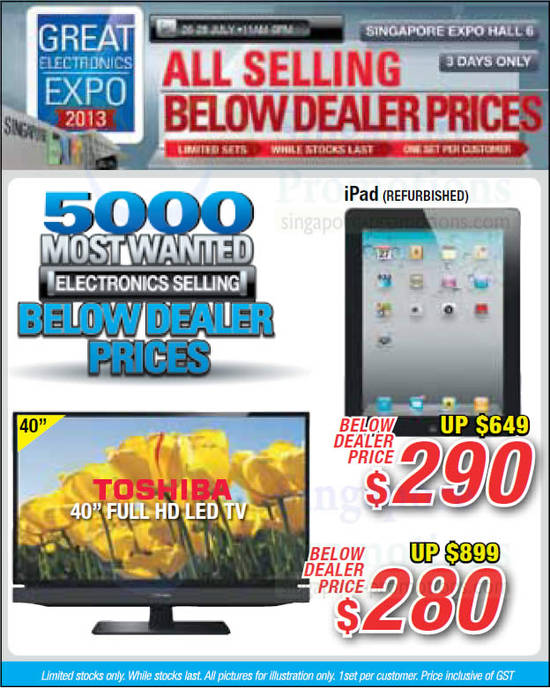 Apple iPad, 40 Full HD LED TV