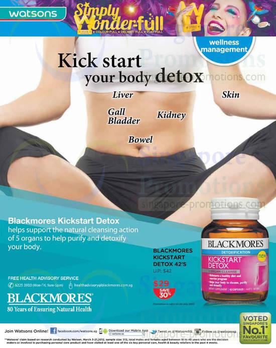 Blackmores Kickstart Detox