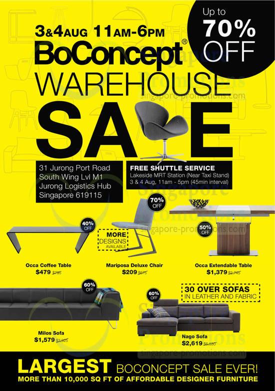 Boconcept Up To 70 Off Designer Furniture Warehouse Sale