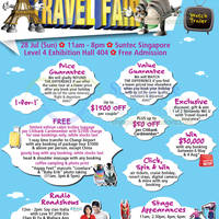 Read more about Chan Brothers Summit Travel Fair @ Suntec City 28 Jul 2013