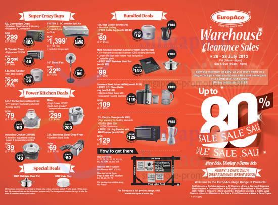 Dates, Venue, Timing, Kitchen Deals, WMF Cookware, Bundles