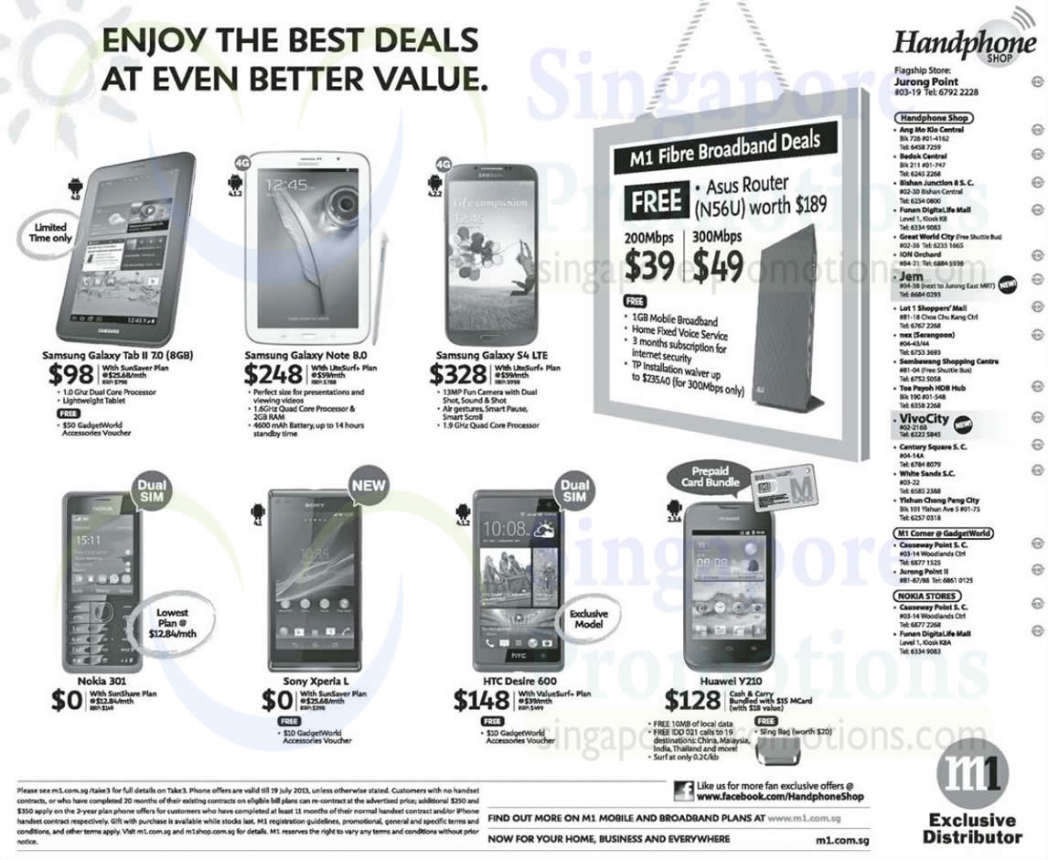 Handphone Shop Samsung Galaxy Tab 2 70 Note 80 S4