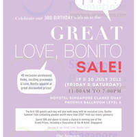 Read more about Love Bonito Great Sale @ Novotel Singapore Clarke Quay 19 - 20 Jul 2013