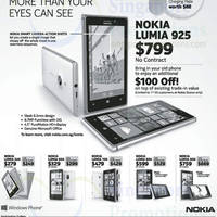 Read more about Nokia Lumia Smartphones No Contract Price List 20 Jul 2013