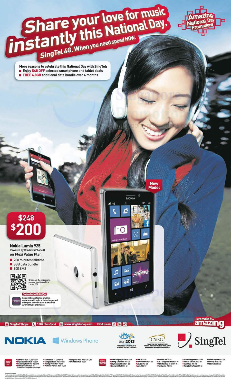 Nokia Lumia 925 (Singtel)