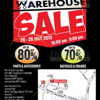 Read more about Rodalink Warehouse SALE Up To 80% Off @ Tradehub 21 26 - 28 Jul 2013