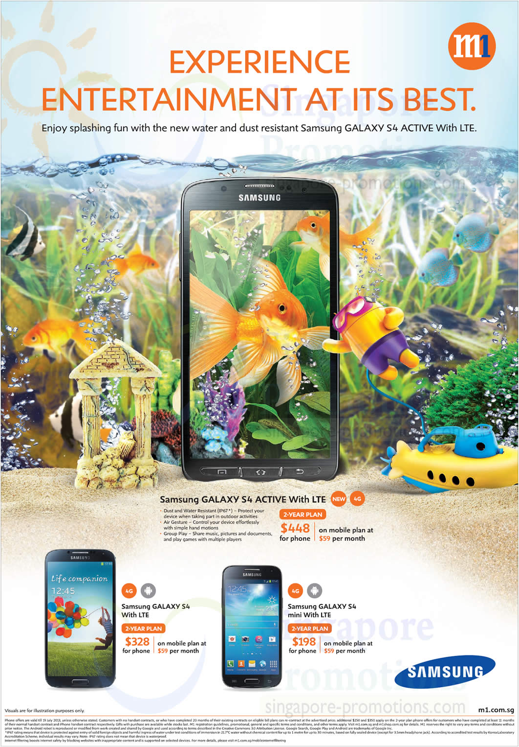 Samsung Galaxy S4 Active, Samsung Galaxy S4, Samsung Galaxy S4 Mini