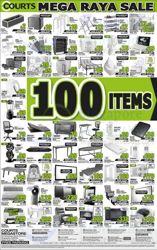 100 items under 399 Dollar Highlighted Deals 187 Courts  : 100 items under 399 Dollar Highlighted Deals 550x875 from singapore-promotions.com size 550 x 875 jpeg 144kB