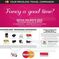 Read more about NATAS Fair 2013 (Aug 2013) Travel Fair @ Singapore Expo 16 - 18 Aug 2013