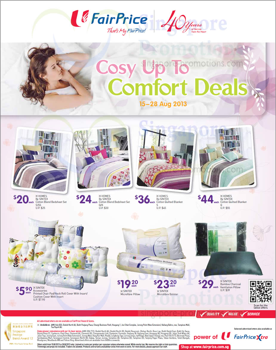 Bedsheet Sets, Cushion Covers, Pillows