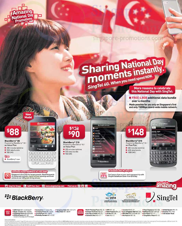 Blackberry Q5, Blackberry Z10, Blackberry Q10