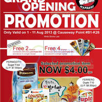 Read more about Choco Express Grand Opening Promo @ Causeway Point 1 - 11 Aug 2013