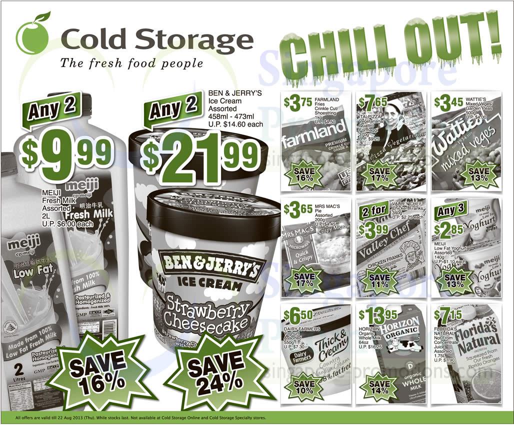 Cold Storage 16 Aug 2013