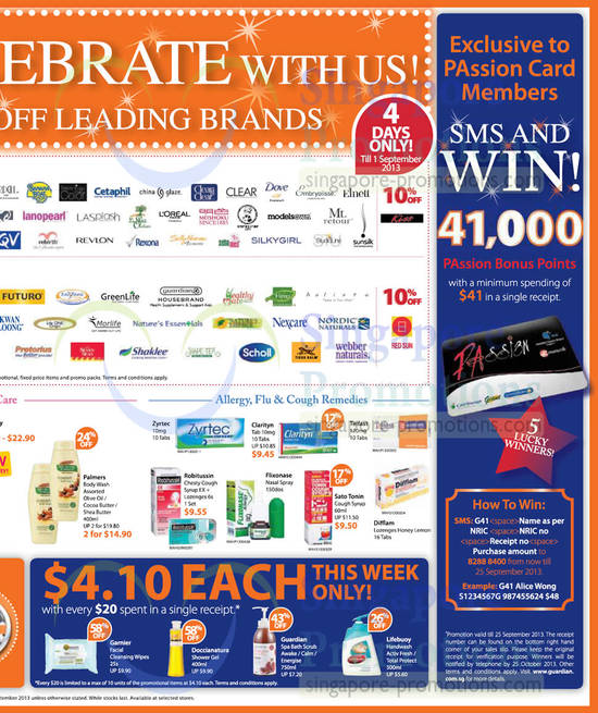 Discounted Brands, Cetaphil, Dove, Silkygirl, Revlon, Scholl, Natures Essentials, GreenLife, Nexcare