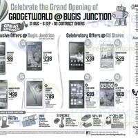 Read more about Gadget World No Contract Smartphone Offers Price List 31 Aug 2013