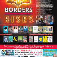 Read more about Popular Gadgets & Write & Borders Fair @ Suntec 2 - 11 Aug 2013