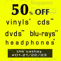 Read more about Gramophone 50% Off CDs, DVDs & Blu-Ray Promo @ The Cathay 30 Aug - 1 Sep 2013