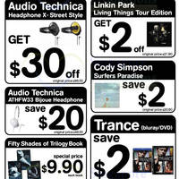 Read more about HMV Earphones, CD/DVDs & More Weekly Offers 22 - 28 Aug 2013