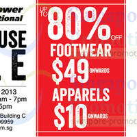 Read more about Key Power International Warehouse SALE Up To 80% Off @ Lion Building C 16 - 18 Aug 2013