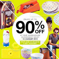 Read more about Kwerkee Warehouse Clearance SALE Up To 90% Off 2 - 3 Aug 2013