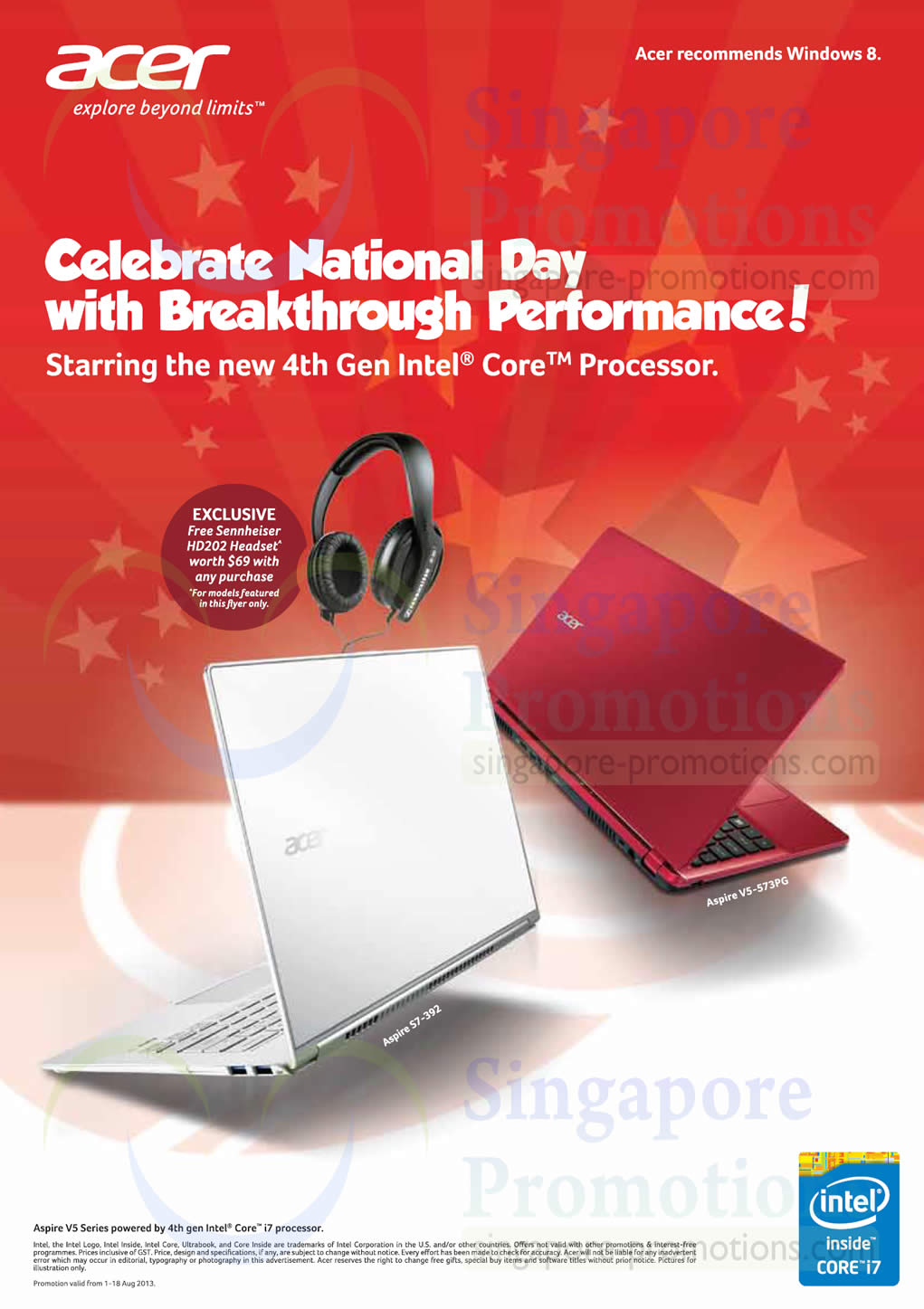 National Day Promotions, 4th Gen Intel Core Processor
