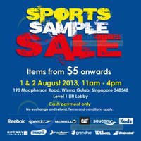 Read more about Royal Sporting House Sports Sample SALE @ Wisma Gulab 1 - 2 Aug 2013