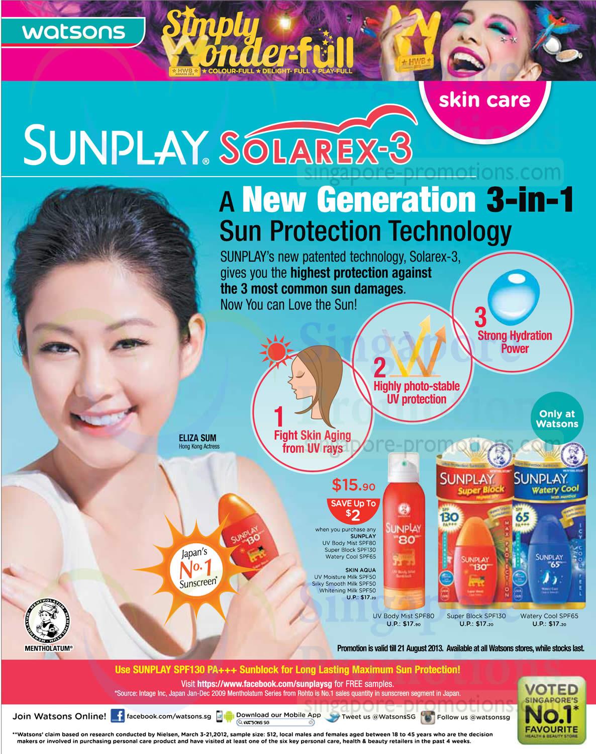 Sunplay Solarex-3